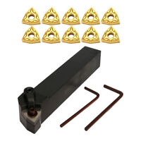 CNC Metal Lathe Turning Tools 5 inch Holder Bit Set with Carbide Inserts