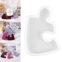 Puzzle di Stampo In Silicone Colata di Resina Stampo FAI DA TE Ornamento