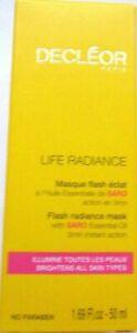 Decleor Life Radiance Flash Radiance Mask 50ml - Boxed
