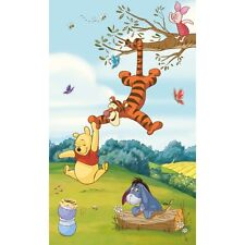 Children's Pooh & Friends Wall Mural, Winnie the pooh Wall Sticker Mural