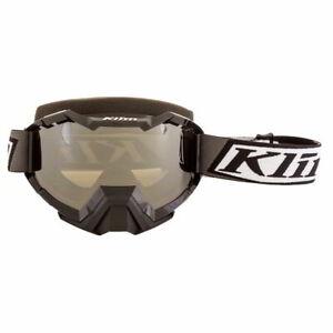 Klim Viper Deviate Black Smoke Mirror Lens Mens Winter Sports Snowmobile Goggles
