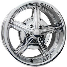 18x8 Polished Wheel Billet Specialties Speedway 5x4.75 0