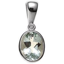 Halsketten und Anhänger mit Diamant behandelter Echtschmuck