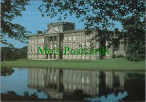 Cheshire Postcard - Lyme Park, South Front and Lake RR10950