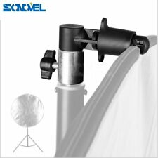 Photo Video Photography Studio Reflector Disc Holder Clip for Light Stand