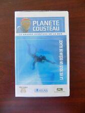 """VHS lot de 5 """" planète Cousteau """""""