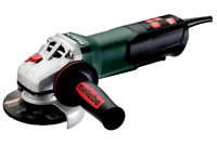 Metabo WP9-115 Quick 8.5 Amp 10,500 rpm Angle Grinder with Non-locking Paddle Sw