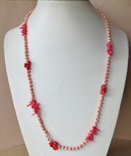 Handmade Coral Strand/String Costume Necklaces & Pendants