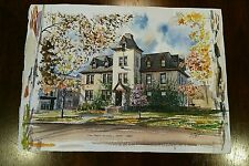 ORIGINAL Watercolor by Ernest B Walden aka Davis Gray - Owned by the Artist
