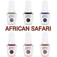 Gelish AFRICAN SAFARI Soak Off Gel Polish 1110314-1110319 Pick Color Base or Top