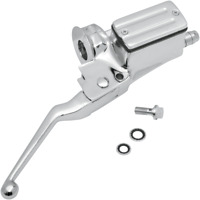 Drag Master Cylinder Assembly w/Lever/Clamp 3/4in Bore Harley FL FX XL 82-85