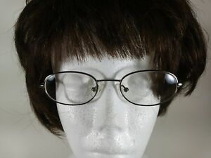Safilo Made In Italy Silver Wire Metal Glasses Eyeglasses Frames 45 18 125mm