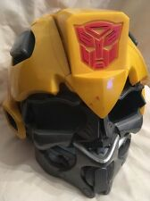 TRANSFORMERS BUMBLEBEE ELECTRONIC VOICE CHANGER HELMUT WITH SOUNDS Full Head