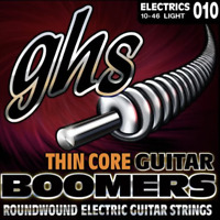 GHS Thin Core Boomers - Electric Guitar Strings 10-46 (Light) Save $$$