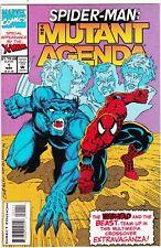 Marvel Comic Spider-Man #1 The Mutant Agenda #64208 Br1 D
