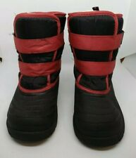 Stride Rite Toddler's 12 Black & Red Boots
