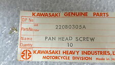 Kawasaki NOS NEW  220B0305A Pan Head Screw 3x5 Z1 H1 H2 S2 S3 EX F5 F6 1969-86