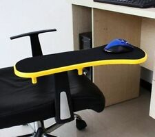 Yellow Computer Desk Chair Table Armrest Wrist Mouse Pad Support Home Long 450mm