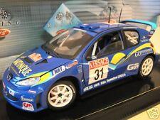 PEUGEOT 206 WRC #31 Rall 2001 Rallye SAN REMO 1/18 SOLIDO 9032 voiture miniature