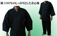 JAPANESE Kimono Samue Men's trousers set NAVY LL NEW