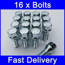 16 x ALLOY WHEEL BOLTS FOR VOLVO V70 Mk2 (2000 - 2007) 14MM NUTS LUG [1Z]