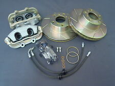 COMMODORE VR VS TO VT BIG BRAKE UPGRADE SLOTTED DISCS HSV ALL MODELS MALOO UTE
