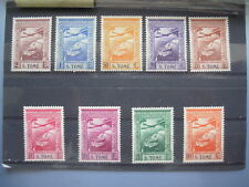 ST THOMAS & PRINCE IS 1938 Airs MLH Sc C1-9 #40637