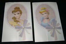 Two Disney Princess Large Peel and Stick Wall Stickers