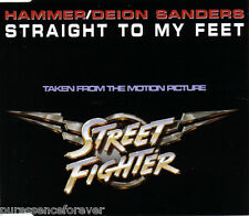 HAMMER/DEION SANDERS - Straight To My Feet (UK 4 Tk CD Single)