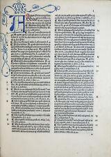 INKUNABEL ANGELUS DE CLAVASIO SUMMA ANGELICA NIKOLAUS VON FRANKFURT VENEDIG 1487