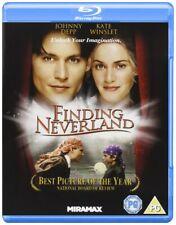Finding Neverland (Blu-ray) Johnny Depp, Kate Winslet, Julie Christie