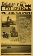 R.E.M. Fanclub Newsletter 1997 Vol.1