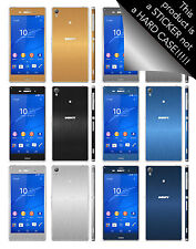 Brushed Metal Skin For SONY XPERIA Z3 & Z3 COMPACT Decal Wrap Cover Case
