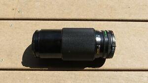 Canon FD 70-210mm 1:4 Macro Zoom SLR Camera Lens (Japan) with Hoya UV Filter