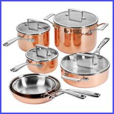 [No Tax] KitchenAid 10-piece Tri-Ply Copper Cookware Set