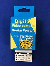 Battery#3.7v460mA(Japan cell) for NIKON EN-EL11 *Nikon...digital cameras.*SALE*