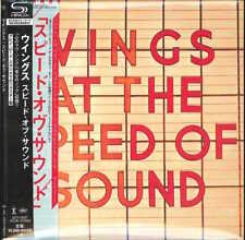WINGS-WINGS AT THE SPEED OF SOUND-JAPAN MINI LP SHM-CD Ltd/Ed G00