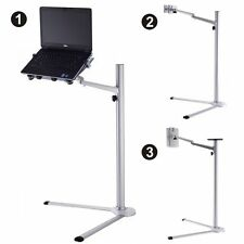 3 in 1 Height Adjustable Laptop & Ipad Stand Holder 360° Rotating Tablet Phone