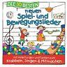 DIE 30 BESTEN NEUEN SPIEL-UND BEWEGUNGSLIEDER -/GLÜCK,K.& KITA-FRÖSCHE  CD NEU