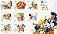 Italy 2017 MNH Minnie Mickey Mouse Topolino 8v S/A M/S Disney Cartoons Stamps