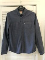 LEVI'S Mens Long Sleeve Blue Modern Fit Cotton Shirt Size Medium