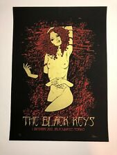Malleus Black Keys Torino 2012 Poster Art Silk Screen Print