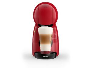 Cafetera de cápsulas Nescafé Dolce Gusto - Krups Piccolo XS, 15 Bar, Color Rojo
