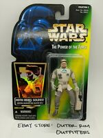 Kenner Star Wars Hologram Power Of The Force Hoth Rebel Soldier Action Figure