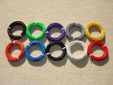 ( 0,08 €/m ) 10X10 m Schaltlitze Kupferlitze Kabel Litze 0,14 mm² 10 Farben