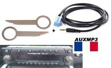 Cable aux mp3 autoradio jack becker CDR+22 CDR+32 + 2 clés porsche boxster 2000
