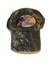 Bass Pro Shops Hat Strap Back Trucker Baseball Fishing Outdoor Cap Camo Red Head