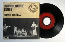 """THE WHO *SUMMERTIME BLUES* LIVE AT LEEDS / 7"""" FRENCH PS PICTURE SLEEVE"""