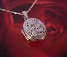 "Unbranded Locket 16 - 17.99"" Fine Necklaces & Pendants"