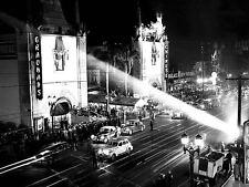 Graumans Chinese Theatre Hollywood Blvd. 1944 Hollywood Historic Photos Art 10x8
